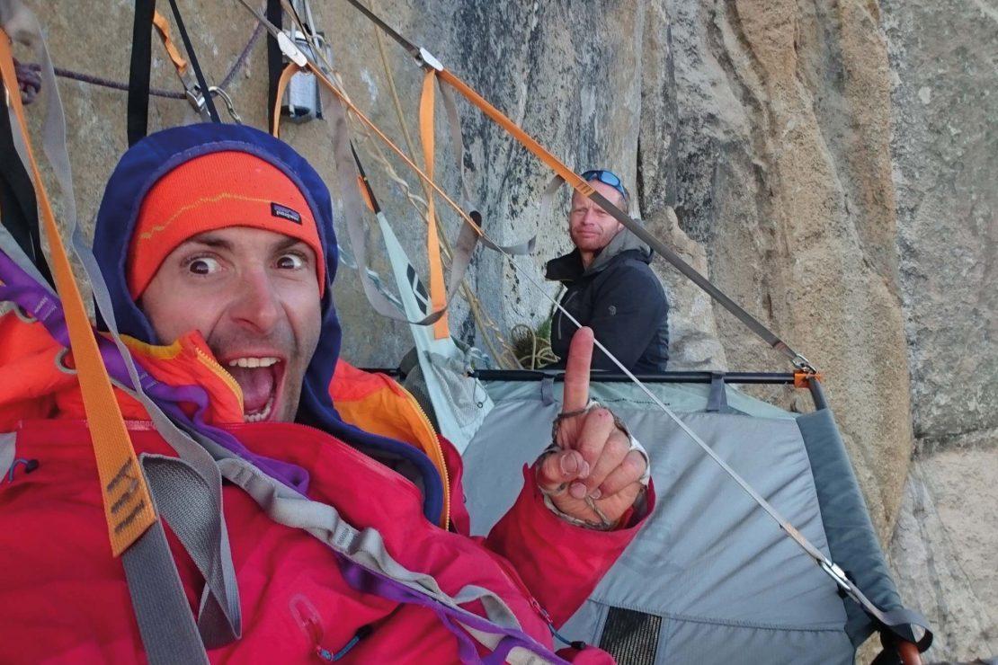 Climbing El Cap USA