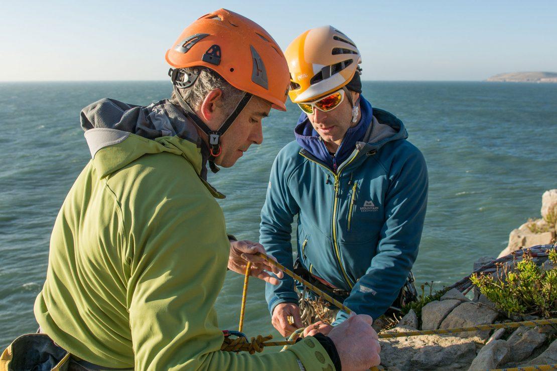 Dorset self rescue climbing course