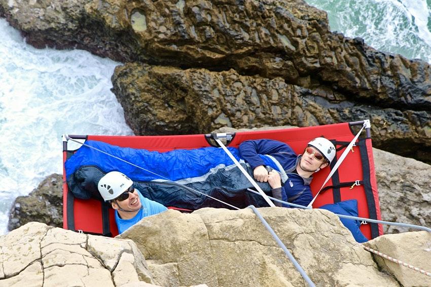 Dorset Cliff camping
