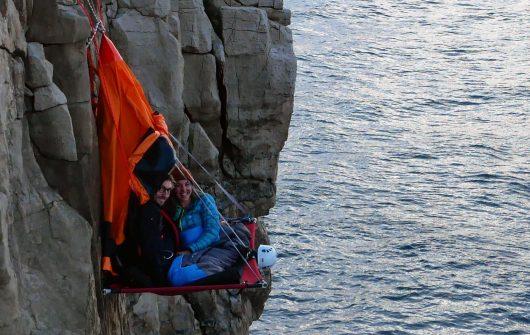 Cliff Camping in Dorset