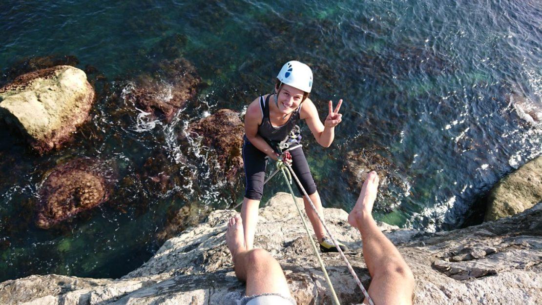 Portland climbing instructor