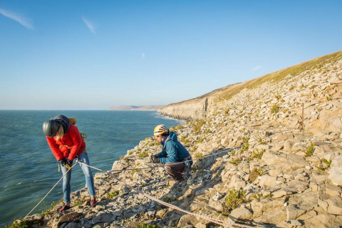 Dorset climbing coach